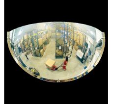 Miroir hémisphérique de sécurité 1/4 de sphère diamètre 1140mm
