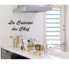 "Sticker ""La cuisine du chef"""