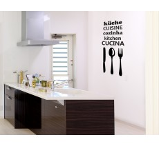 "Sticker ""Cuisine internationale"""