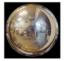 Miroir hémisphérique de sécurité 1/2 sphère diamètre 800mm
