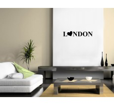 "Sticker ""London Coeur"""