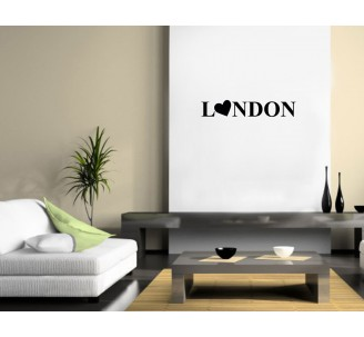 "Sticker ""London Coeur"""
