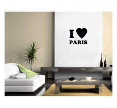 "Sticker ""J'aime Paris """