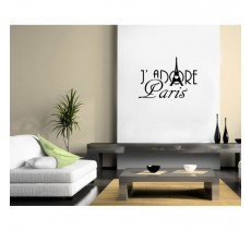 "Sticker ""J'adore Paris """