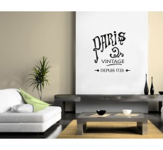 "Sticker ""Paris Vintage"""