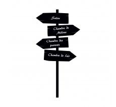 """Sticker """"Direction maison"""""""