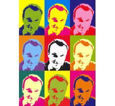 "Impression style ""Andy Warhol""  250x180 mm"