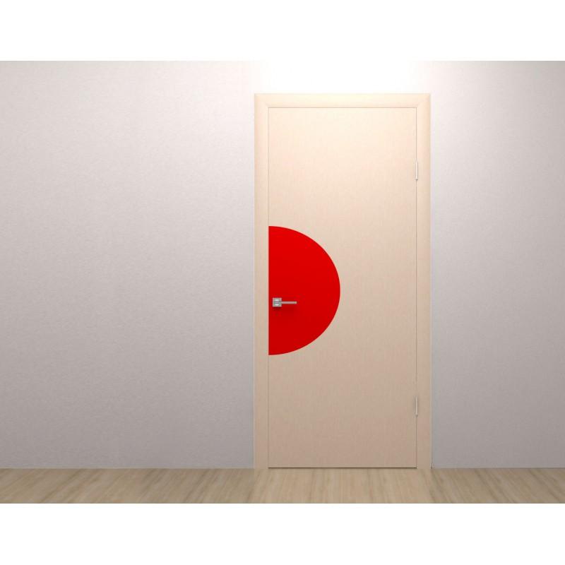 Adh sif king size pour porte demi cercle moiti gauche - Demi porte interieure ...