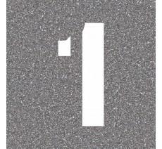 """Pochoir en bois du chiffre """"1"""""""