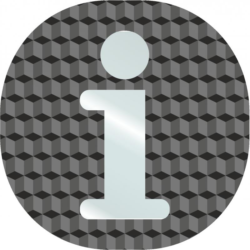 Plaque porte information en plexi lettres transparentes - Plaque plexiglas transparent ...