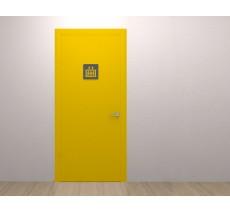 """Plaque porte plexi ,effet 3D """" Ascenseur"""""""