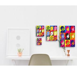 "Impression style ""Andy Warhol""  400x280 mm"