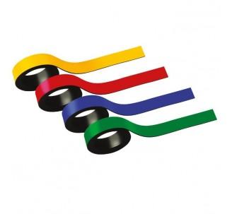 Bandes magnétiques dimensions: 10x1000mm. Vendu par 2 ROUGE