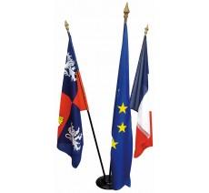 Ensemble de drapeaux Réception