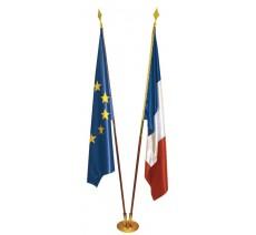 Lot de 2 drapeaux de Prestige