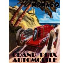 """Plaque publicité  """" GPAuto Monaco  """""""