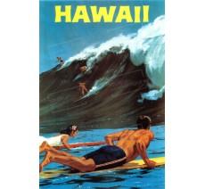 """Plaque publicité  """" Hawaii  """""""