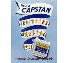 """Plaque publicité  """" Capstan """""""