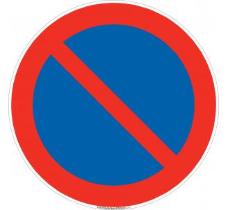 Panneau Défense de stationner