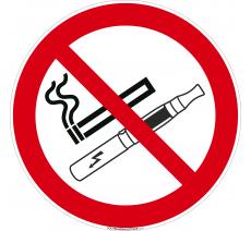Panneau Défense de fumer et de vapoter