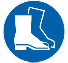 Panneau Port de chaussures de sécurité obligatoire