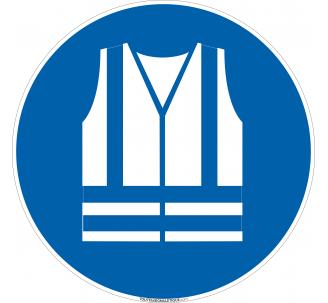 Panneau Port gilet de sécurité obligatoire