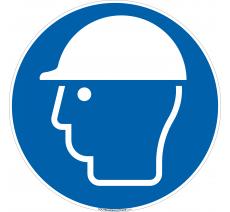 Panneau Port casque obligatoire
