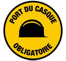 Panneau Port de casque obligatoire