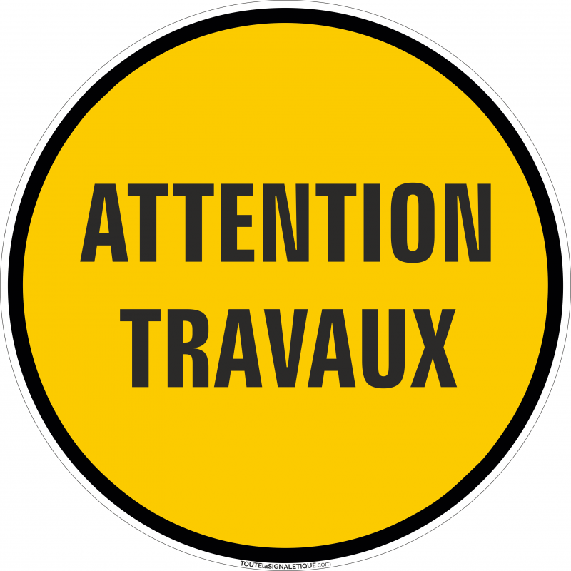 Attention Travaux Formats Et Matieres Au Choix