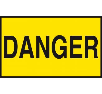 Panneau Danger , dim: 200x300mm