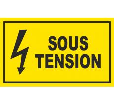 Panneau Sous tension , dim: 200x300mm