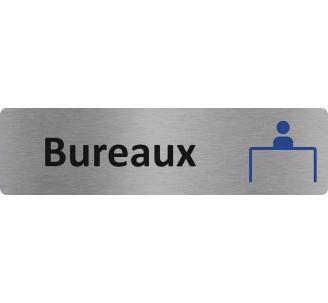 """Plaque de porte économique """" Bureaux """""""