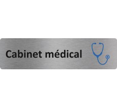"""Plaque de porte économique """" Cabinet médical """""""