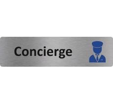 """Plaque de porte économique """" Concierge """""""