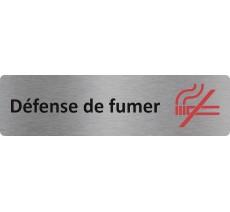"""Plaque de porte économique """" Défense de fumer """""""