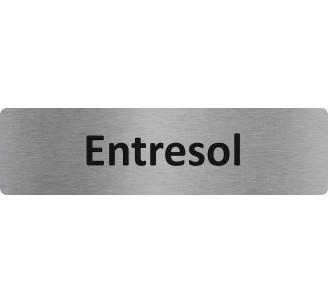 """Plaque de porte économique """" Entresol """""""