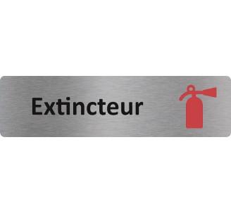 """Plaque de porte économique """" Extincteur """""""