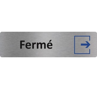 """Plaque de porte économique """" Fermé """""""
