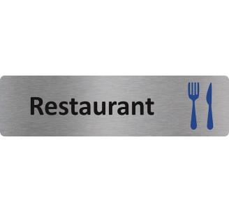 """Plaque de porte économique """" Restaurant """""""