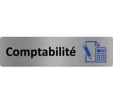 """Plaque de porte économique """" Comptabilité """""""