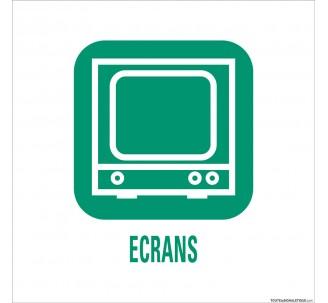 """Panneau de déchetterie conforme aux normes """"Ecrans"""""""