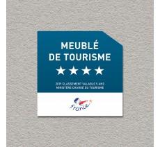 Panonceau Meublé de tourisme 4 étoiles