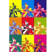 Plante avec filtre Andy Warhol