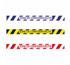 Bandes de sol ZONE DE CONFIDENTIALITE