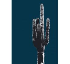 Grand cactus avec filtre Andy Warhol