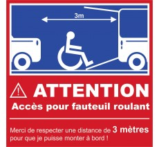 Attention accès PMR