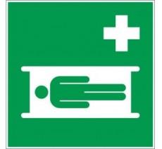 Adhésif ou panneau PVC rigide ou adhésif dim: H 200x L 200 mm  Civière