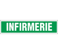 Panneau PVC rigide dim: H 75 x L 330 mm Infirmerie