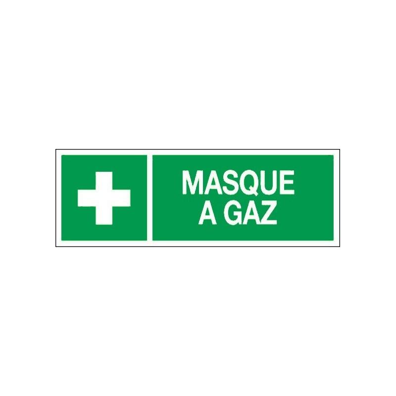 panneau pvc rigide ou adh sif dim 120x330mm masque gaz. Black Bedroom Furniture Sets. Home Design Ideas