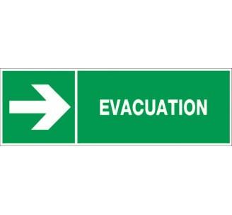 Panneau PVC rigide dim: H 150 x L 450 mm Evacuation par la droite
